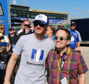 Dale Earnhardt Jr and Jeff Hanson