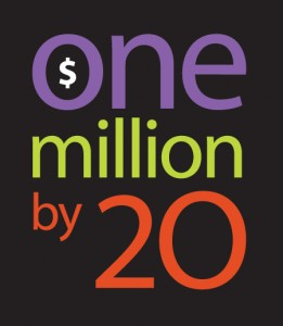 One Million By 20 Logo