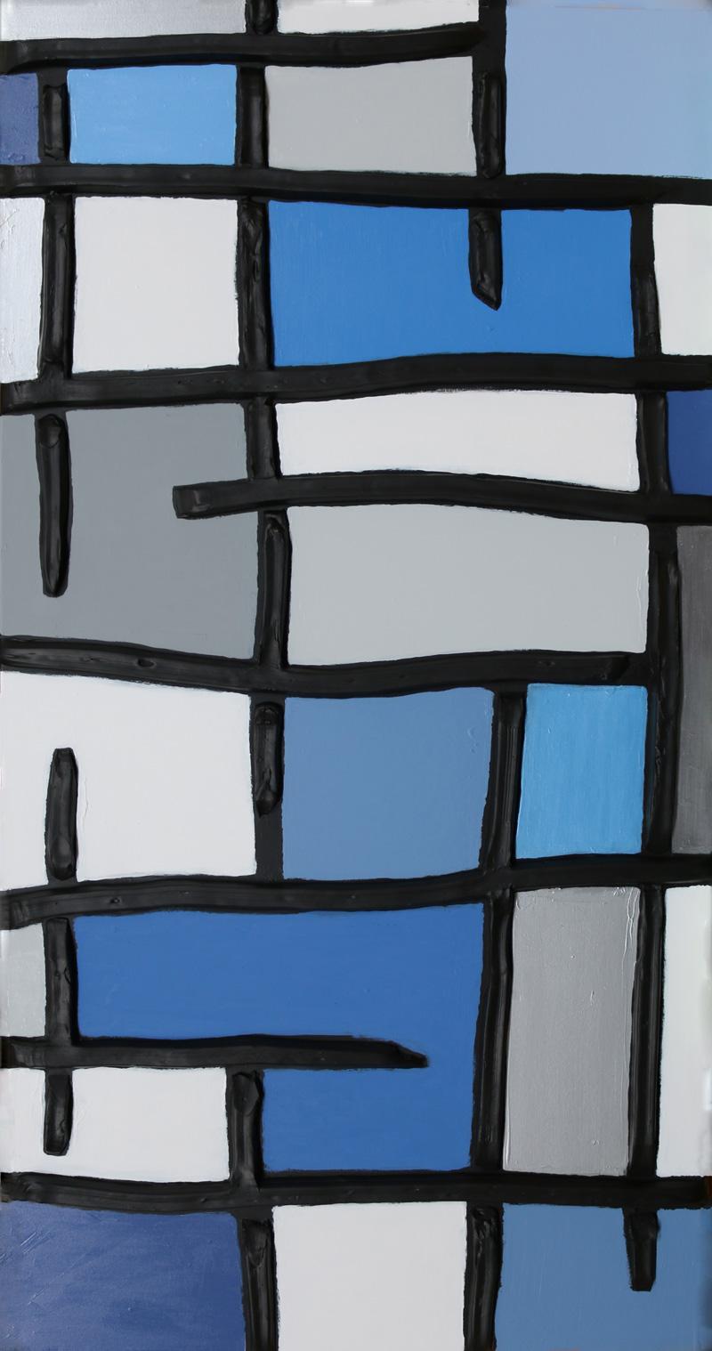 Strolling Mykonos - Jeff Hanson Original Painting