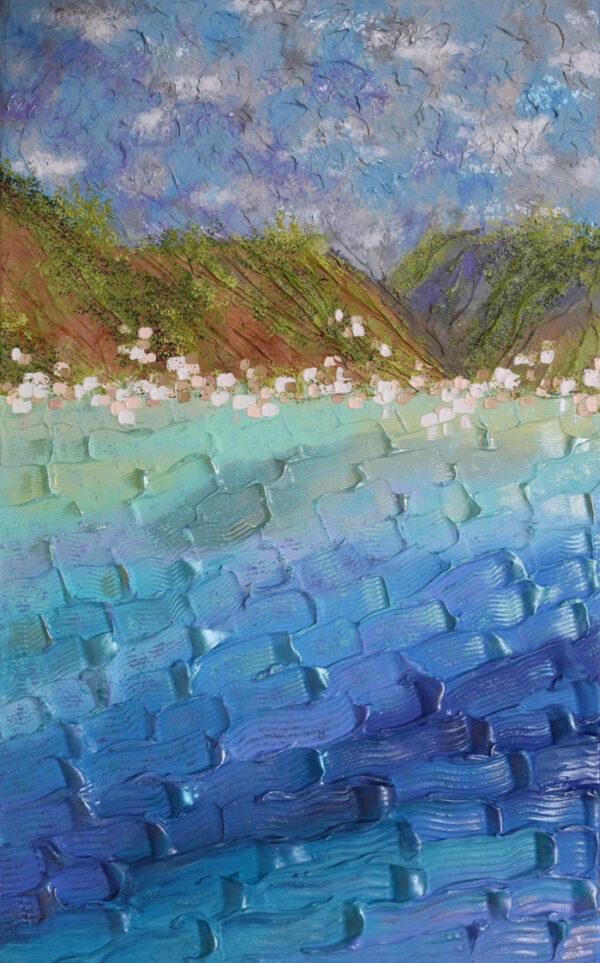 Sailing Into St. Lucia - Jeff Hanson Art Original Painting