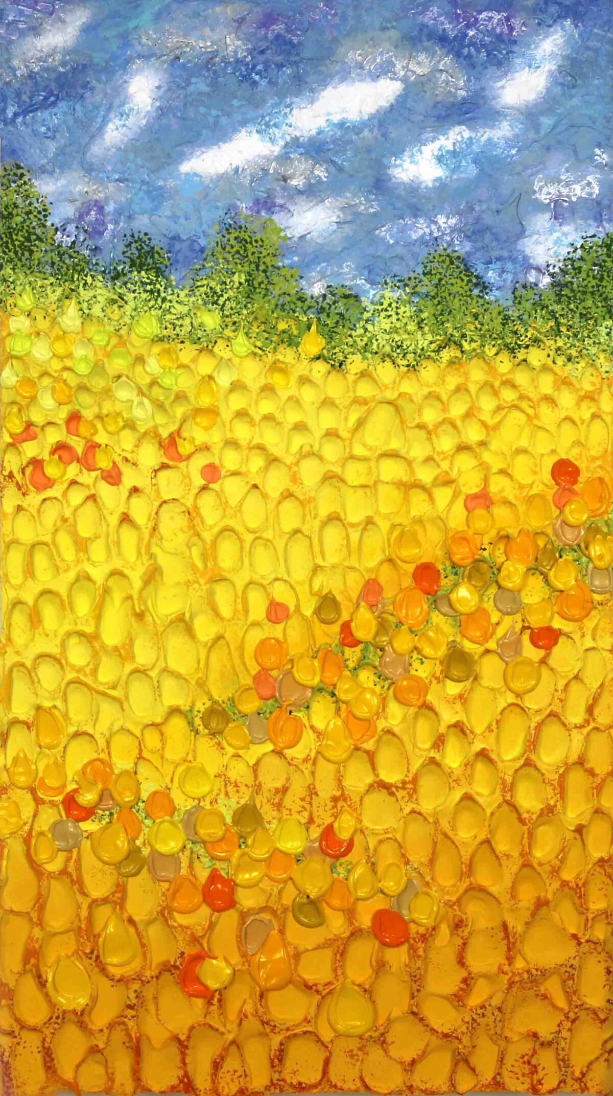 Sunny in Amsterdam - Jeff Hanson Art Original Painting