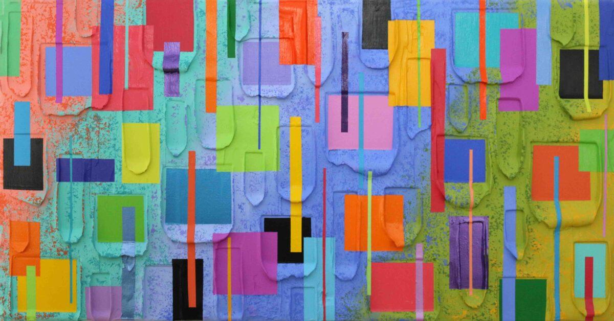 Bermuda Beach Party - Jeff Hanson Art Orginal Painting