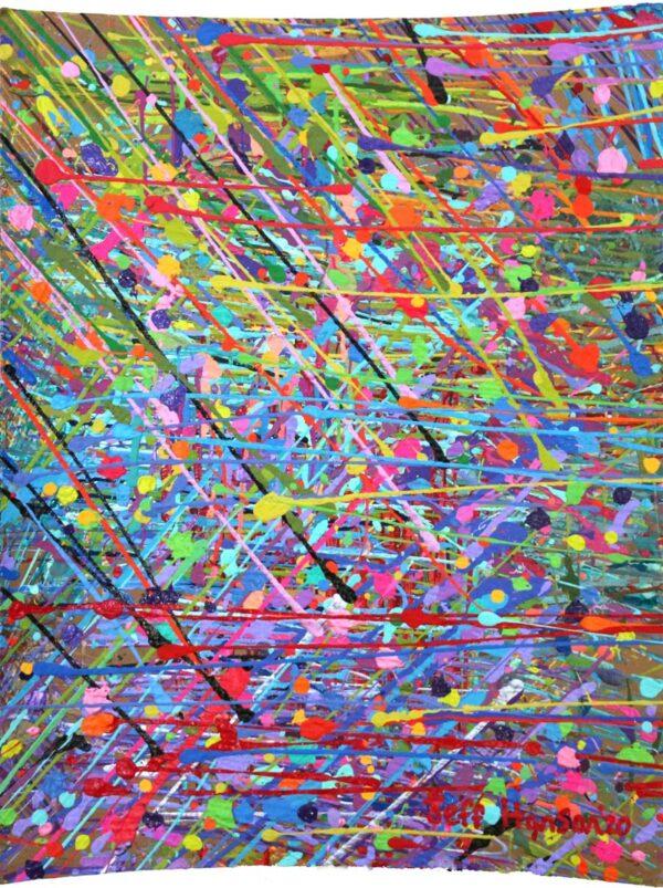 Studio Floor LIII - Jeff Hanson Art