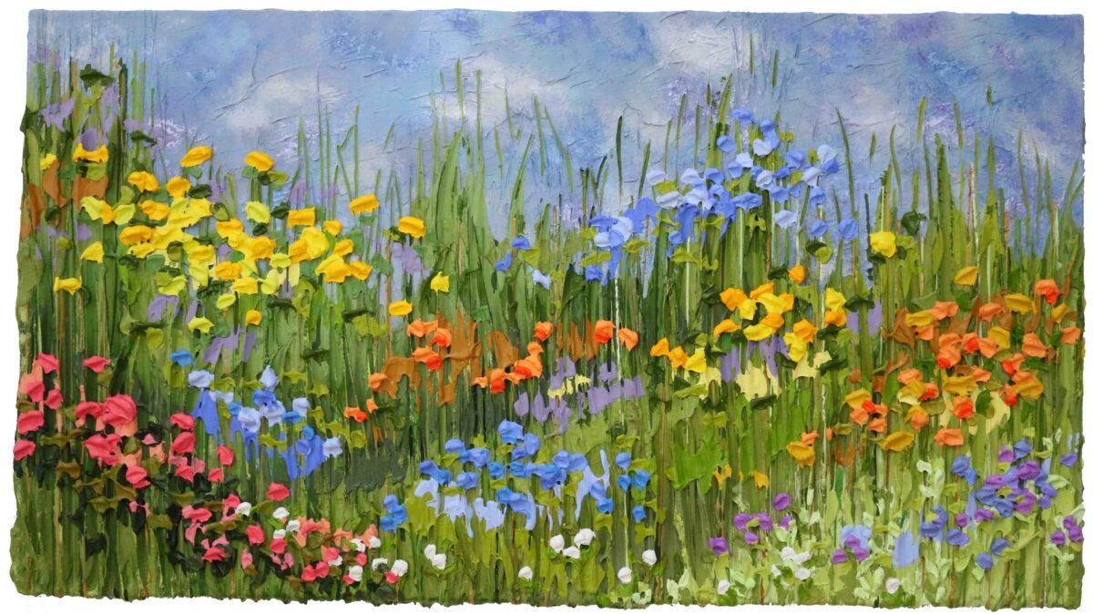 High Tea in the Cotswolds - Jeff Hanson Art Original Painting